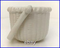 RARE VINTAGE Bennington Potters NANTUCKET BASKET BOWL DESIGNED BY GEORGE DAVIS