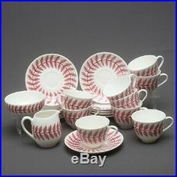 RARE Vintage 14 pcs Gustavsberg Sweden Maxim Cups, Saucers, Bowl, Milk Jug