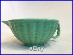 RARE Vintage Gladding Mcbean-Franciscan Cocinero Tropico Green Batter Bowl