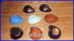 RUSSEL WRIGHT POTTERY mid CENTURY bowls dishes lot Vintage Rare glazed