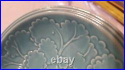 Rare Fiesta four Seasons SUMMER BLUE bowl 1940 American Potter Plate worlds fair