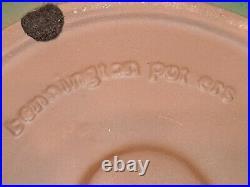 Rare Vintage Bennington Pottery 2180 Green Agate 14 Salad/Fruit Bowl