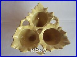 Rare! Vintage Original McCoy Triple Bulb Bowl Planter. Very Hard to Find! Look
