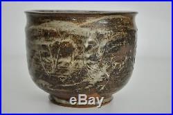 Richard Lincoln Vtg Mid Century Modern Ceramic Texas Studio Art Pottery Bowl RML