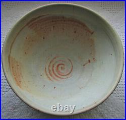 Roycroft Large Bowl Janice Mcduffie Arts & Crafts Vintage Circa. 1980