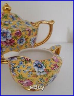 Ceramics & Porcelain Friendly Beautiful Vintage Adler England Floral Creamer Pitcher
