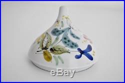 Stig Lindberg Gustavsberg Sweden Vtg Mid Century Modern Studio Pottery Leaf Bowl