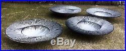 Svend Hammershoi Kahler Ceramic Bowls Early 20th Mid Century Modern Vintage