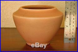 Sweet Vintage Rookwood Arts & Crafts Bowl Jardiniere XXV 1925 #1927 Matte Rose