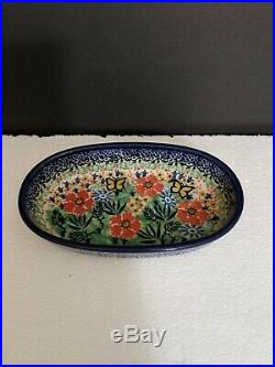 Unikat T. Liana Polish Vintage Oval Baker Dish