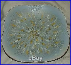 VINTAGE 1960s Shallow Redware Console Bowl #560/28 Carstens Tonnieshof W Germany