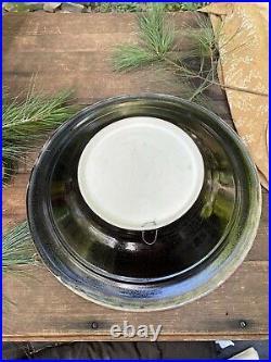 VINTAGE Bill Campbell Studio Art Crystalline Pottery Bowl