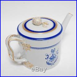 VINTAGE COPELAND SPODE TEA SET NEWBURYPORT PATTERN WithPOT, CREAMER & SUGAR BOWL