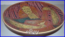 Vintage Danish Pottery Bowl By Michael Anderson