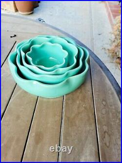 VINTAGE Garden City Swirl Nesting Bowls