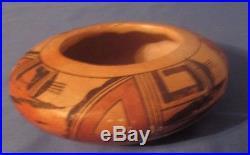 Vintage Native American Pottery Hopi Bowl