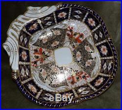 Vintage Royal Crown Derby Traditional Imari Serving Bowl