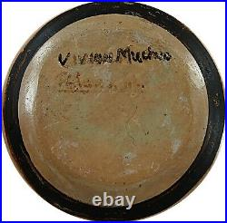 VIVIAN MUCHVO HOPI Vintage Rare Pottery Bowl Book Titled Hopi Summer Included