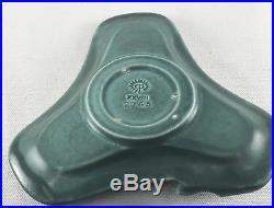 VTG 1928 Rookwood Frog Pin Tray Bowl Dark Green Matte glaze 2765 Art Pottery