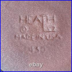 VTG Edith Heath Ceramics Rim Line Serving Bowl 430 California Pottery Mojave