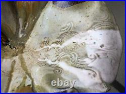 VTG Large Art Ceramic vase/bowl signed by Artist