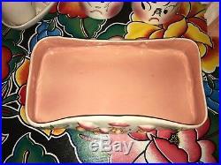 VTG Vernon Kilns FANTASIA Pottery Walt Disney Disneyland Mushroom Bowl 1940 Dish