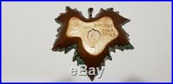 Van Briggle pottery Leaf Ashtray/Bowl Multi/C Vintage colorado springs usa1