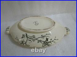 Vintage 1870's Antique George Jones & Sons, Almonds Tureen Serving Bowl. Rare