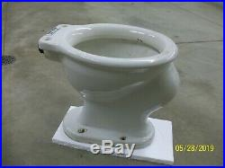 Vintage 1917 Crane Ordway Illini Toilet Bowl T. P. Co. Trenton Potteries Company