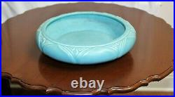 Vintage 1929 ROOKWOOD POTTERY Blue Console Bowl Original Munson Mold Model #2530
