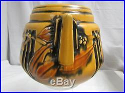 Vintage 1930s Roseville Art Pottery Laurel Vase / Bowl 6.25 x 7.5 LOOK