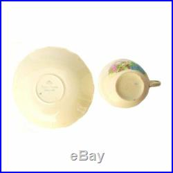Vintage 1940s Alfred Meakin Pixieware Plate Saucer Cup Bowl Bunny Rabbit Tea Set
