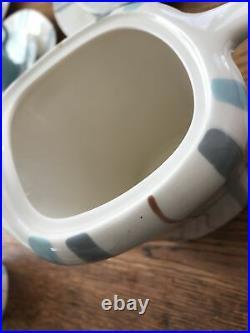 Vintage 1950s Coffee Set. Meakin Horizon. Coffe Pot Creamer Sugar Bowl. Retro