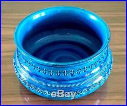 Vintage 1960's BITOSSI Rimini Blu Aldo Londi Bowl FLAVIA Italian Art Pottery