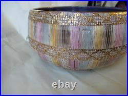 Vintage Aldo Londi Bitossi Seta MCM Italian Pottery Bowl
