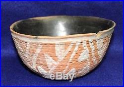 Vintage Antique Circa 800-1200AD Arizona Anasazi Polychrome Bowl Pottery