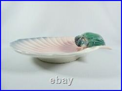 Vintage Australian Pottery Wembley Ware Mud Crab Shell Plate Platter Lustre Bowl