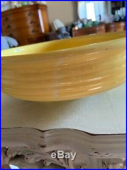 Vintage BAUER Monterey FOOTED Fruit BOWL Pottery Rare 10