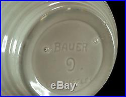 Vintage Bauer Los Angeles California Pottery Ringware Inside Ring Mixing Bowl 9