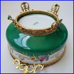 Vintage Bavaria Schumann Amberg Candy Bowl Ceramic Germany