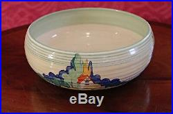 Vintage Bowl by Clarice Cliff for Newport Pottery