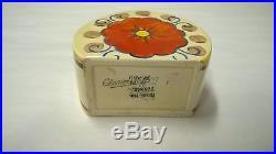 Vintage Clarice Cliff Sugar Basin Bowl Stamford Rare Pattern