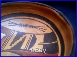 Vintage Classic First Mesa NAMPEYO FAMILY Hopi Tewa Pottery Bowl MAKE OFFER
