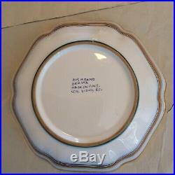 Vintage Deruta Italy Dip. A Mano, For Biordi S. F, Ceramic Bowl