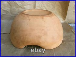 Vintage Elsa Peretti for TIFFANY Terracotta Thumbprint Bowl 9.5 Italy