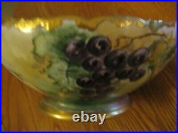 Vintage Favorite Bavaria Large Hand Painted Bowl
