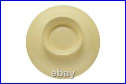 Vintage Fiestaware Fiesta HLC Pedestal Footed Comport Bowl 12 Ivory