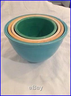 nesting - Vintage Pottery Bowls
