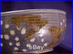 Vintage Frances Senska Northwest Studio Pottery Birds Bowl