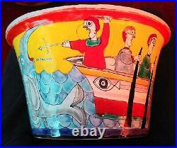 Vintage G. Desimone Fruit Bowl